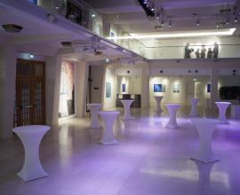 Die Ausstellung im Novomatic-Forum.;