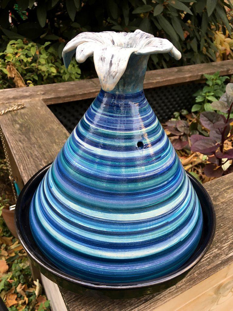 Keramik, handgefertigt.